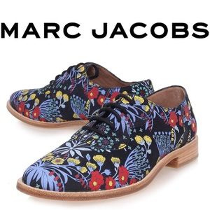 MARC BY MARC JACOBS Oxford floral print oxfords